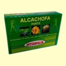 Alcachofa Forte Ecológica - 60 cápsulas - Integralia
