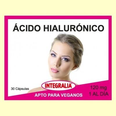 Ácido Hialurónico - 30 cápsulas - Integralia