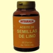 Aceite de Semillas de Lino - 90 perlas - Integralia