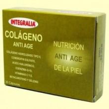 Colágeno Anti Age de la Piel - 30 cápsulas - Integralia