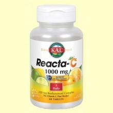 Reacta C 1000 mg - Vitamina C - 60 comprimidos - Laboratorios Kal