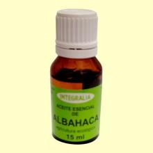 Aceite Esencial de Albahaca Eco - 15 ml - Integralia
