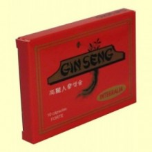 Ginseng Coreano Forte - 10 cápsulas - Integralia