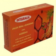 Jalea Real con Ginseng y Acerola - 45 cápsulas - Integralia