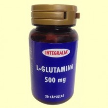 L Glutamina 500 mg - 50 cápsulas - Integralia