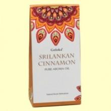 Aceite Esencial Srilankan Cinnamon - Canela - 10 ml - Goloka