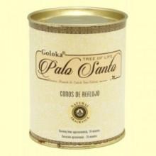 Conos de Incienso Palo Santo - 18 conos - Goloka