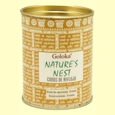 Conos de Incienso Nature Nest - 18 conos - Goloka