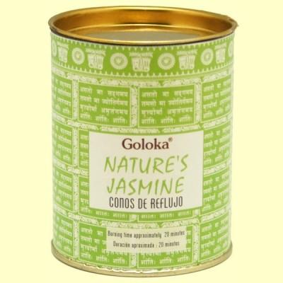 Conos de Incienso Nature Jazmín - 18 conos - Goloka