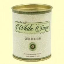 Conos de Incienso White Sage - 18 conos - Goloka