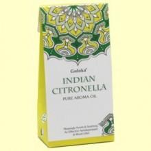 Aceite Esencial Indian Citronella - Citronela - 10 ml - Goloka
