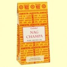 Aceite Esencial Nag Champa - 10 ml - Goloka