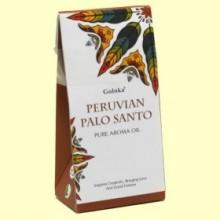 Aceite Esencial Peruvian Palo Santo - 10 ml - Goloka