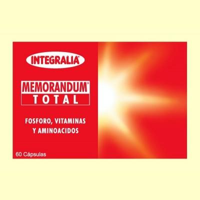 Memorandum Total - 60 cápsulas - Integralia