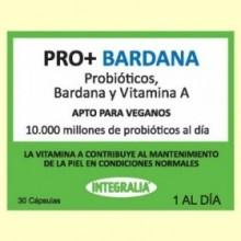 Pro+ con Bardana - Probióticos - 30 cápsulas - Integralia