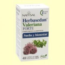 Herbasedan Valeriana Forte - 48 cápsulas - Natysal
