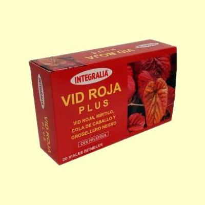 Vid Roja Plus Viales - 20 viales - Integralia