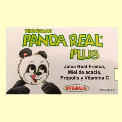 Xiongmao Panda Real Plus - 20 viales - Integralia