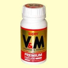 Super V&M Premium Nature - 60 comprimidos - Pinisan
