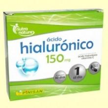 Ácido Hialurónico 150 mg - 30 cápsulas - Pinisan