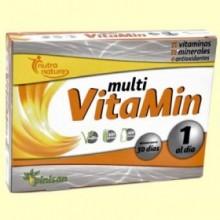 Multi Vitamin - Nutra Nature - 30 cápsulas - Pinisan