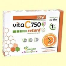 Vita C Retard 750 mg - Vitamina C - 30 cápsulas - Pinisan