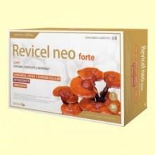 Revicel Neo Forte - Cúrcuma, Cordyceps y Bioperine - 30 ampollas - DietMed