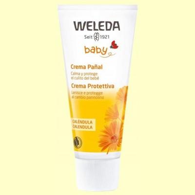Caléndula Crema Pañal Baby - Protege la zona del pañal - 75 ml - Weleda