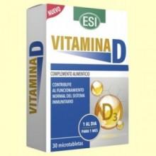 Vitamina D - 30 microtabletas - Laboratorios Esi
