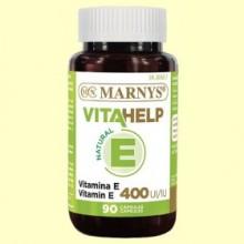 Vitahelp Vitamina E 400 - 90 cápsulas - Marnys
