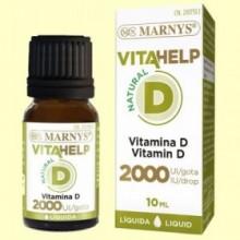Vitahelp Vitamina D 2000 - 10 ml - Marnys