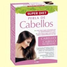 Perla de Cabellos - 60 comprimidos - Super Diet