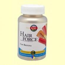 Hair Force con Biotina - 60 comprimidos - Kal Laboratorios