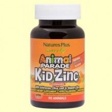 Animal Parade Kid Zinc - 90 comprimidos - Natures Plus