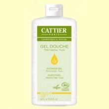 Gel de ducha Suavizante Té Matcha y Yuzu - 1 litro - Cattier