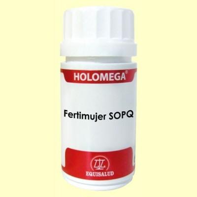 Holomega Fertimujer SOPQ - 50 cápsulas - Equisalud