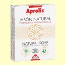 Aprolis Jabón Natural Propóleo Naranjo Bio - 100 gramos - Intersa