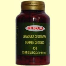 Levadura Cerveza + Germen trigo - Integralia - 450 comprimidos
