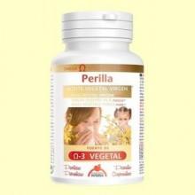 Aceite Vegetal de Perilla Bio - 120 perlas - Intersa