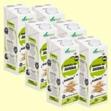 Bebida de Avena con Calcio Bio - Pack 6 x 1 litro - Soria Natural