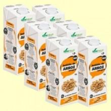 Bebida de Arroz Integral Bio - Pack 6 x 1 litro - Soria Natural
