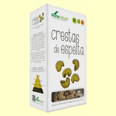 Crestas de Espelta Bio - 250 gramos - Soria Natural