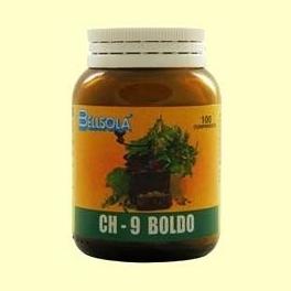Boldo - 100 comprimidos - Bellsolá