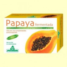 Papaya Fermentada - 30 comprimidos - Specchiasol