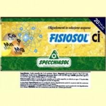 Fisiosol CI - 20 ampollas - Specchiasol