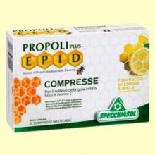 Epid Propoli Plus Miel y Limón - 20 comprimidos - Specchiasol