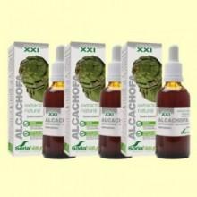 Alcachofa - Fórmula XXI - Pack 3 x 50 ml - Soria Natural