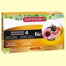 Inmunidad 4 Bio - 20 ampollas - Super Diet