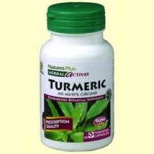 Turmeric - Cúrcuma - 60 cápsulas - Natures Plus