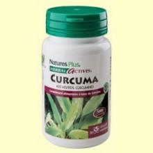 Turmeric - Cúrcuma - 30 cápsulas - Natures Plus